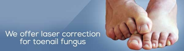 laser correction for toenail fungus